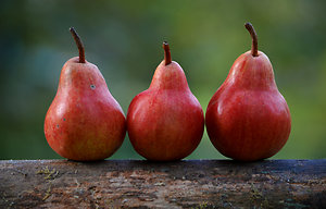 Nutrition can help. 3 pears
